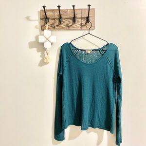 Lucky Brand | Teal Shirt